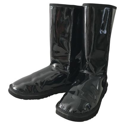 UGG Australia stivali di pelle di brevetto