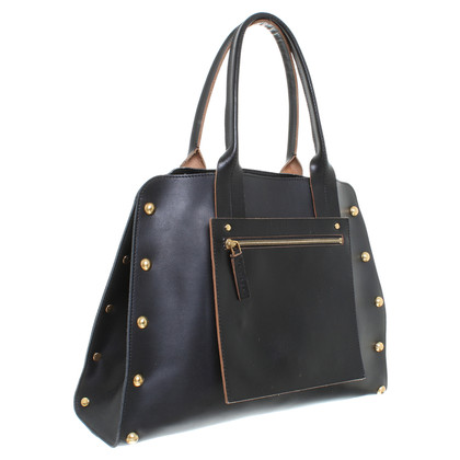 "Marni ""Studded Medium Size Tas"" in zwart"