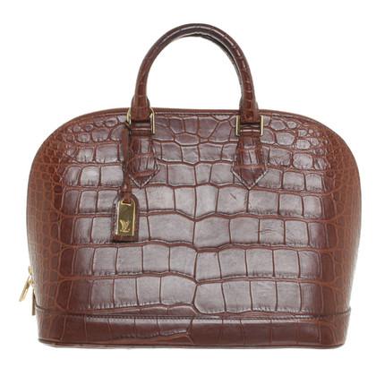 Louis Vuitton Handtasche aus Krokodilleder