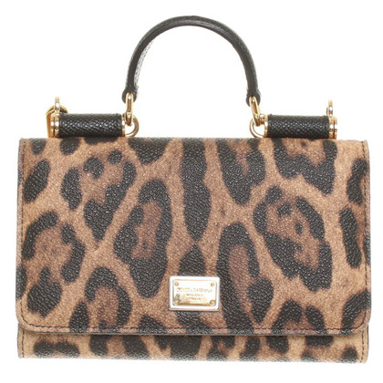 Dolce & Gabbana Mobile Case with animal print