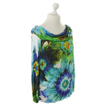 Blumarine Top met batik patronen