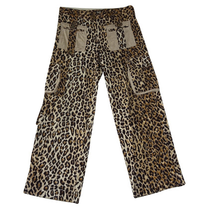 Dolce & Gabbana trousers with leopard pattern