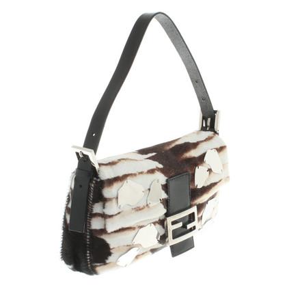 Fendi Handtasche aus Kuhfell