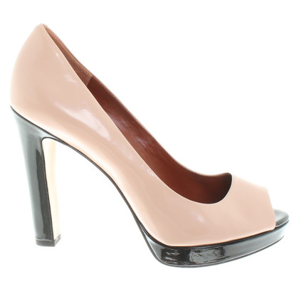 Marc by Marc Jacobs Peep-Toes in Nude