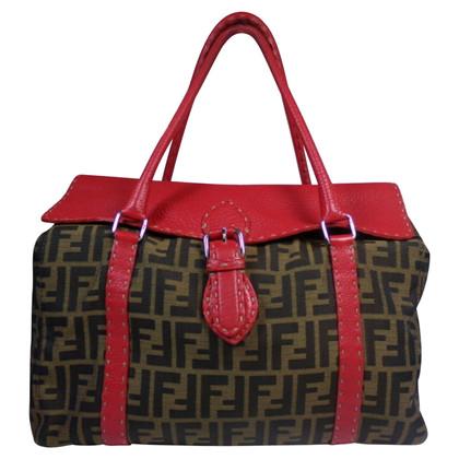 Fendi Shopper with Zucca pattern