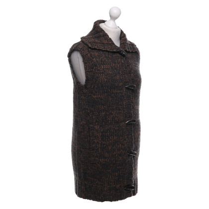 Dolce & Gabbana Knitted vest in brown / grey