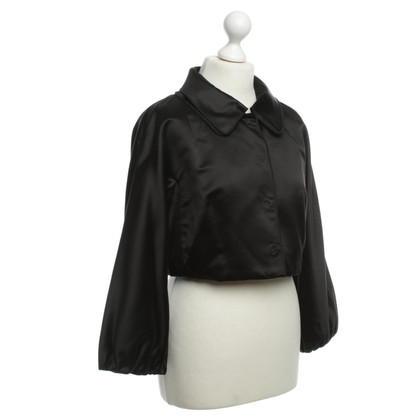 Dolce & Gabbana Kurzer Blazer in Schwarz