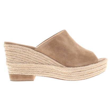 Paloma Barcelo Wedges in Beige