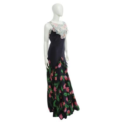 ISOLDA Silk Maxi Dress