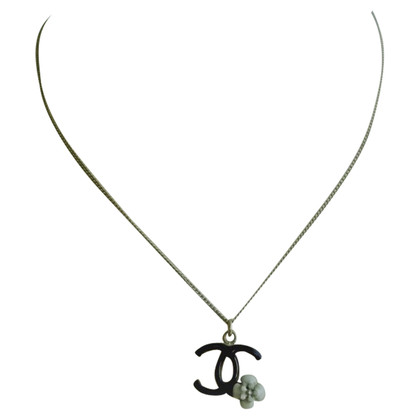 Chanel Necklace with Camellia