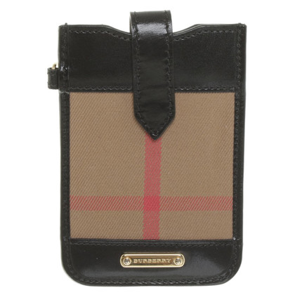 Burberry Mobile phone bag with Nova check pattern