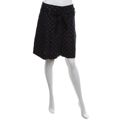Sonia Rykiel Pants skirt with polka dots