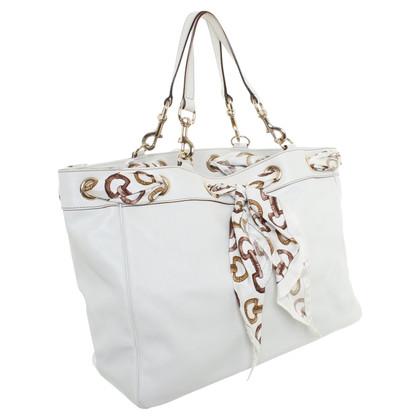 Gucci Lederen handtas in White