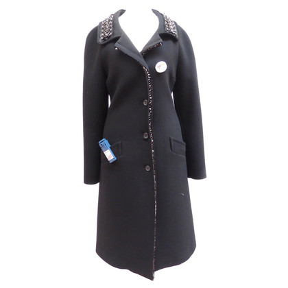 Prada Coat met strass