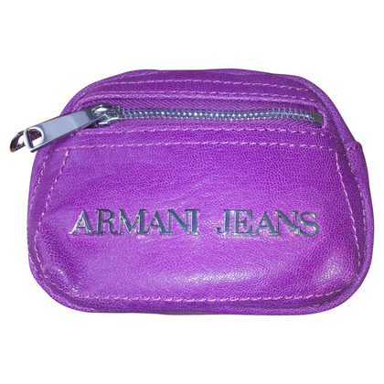 Armani Jeans Mini Wallet in Violet