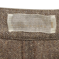 Schumacher Trouser skirt with herringbone pattern