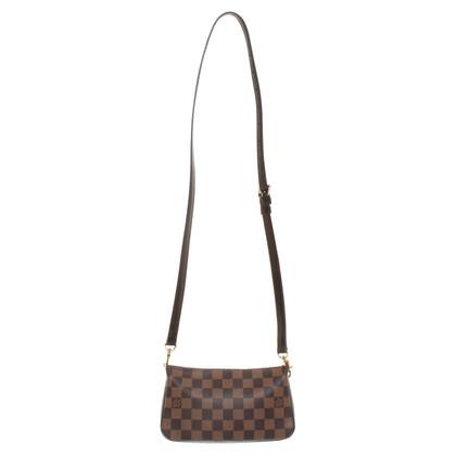Louis Vuitton Satchel Bag Damier Ebene Canvas