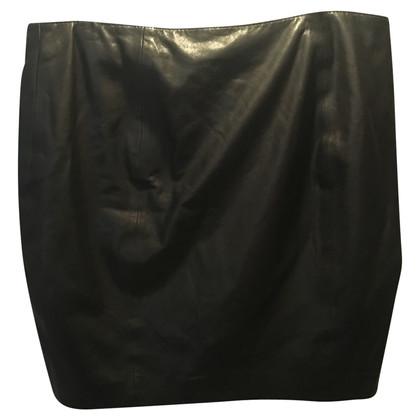 Haute Hippie Leather skirt