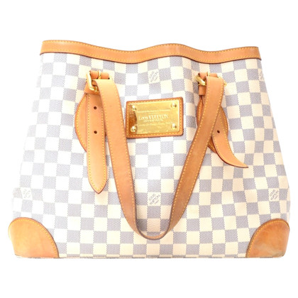 "Louis Vuitton ""Hampstead MM Damier Azur Canvas"""