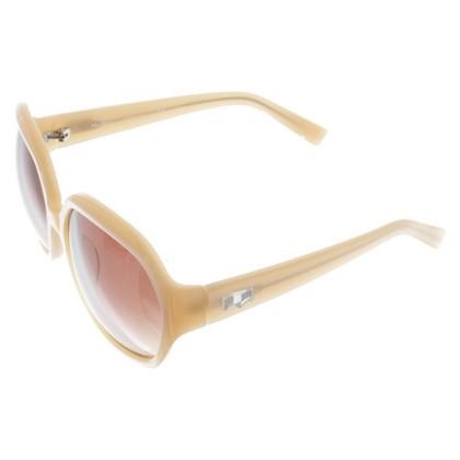 Max Mara Sonnenbrille in Nude