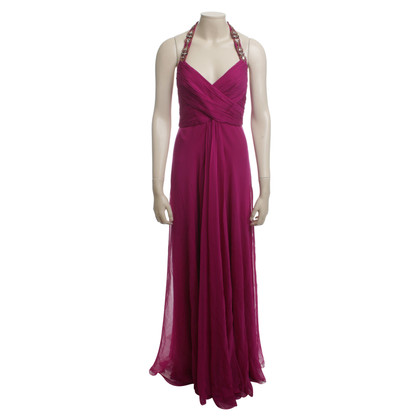 Marchesa Evening dress in Fuchsia