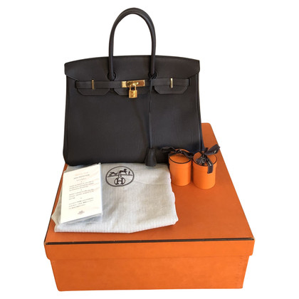 "Hermès ""Birkin Bag 35 Clemence Leather"""