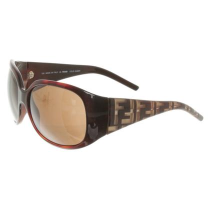 Fendi Sonnenbrille in Braun