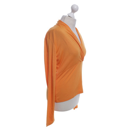 René Lezard Shirt in orange