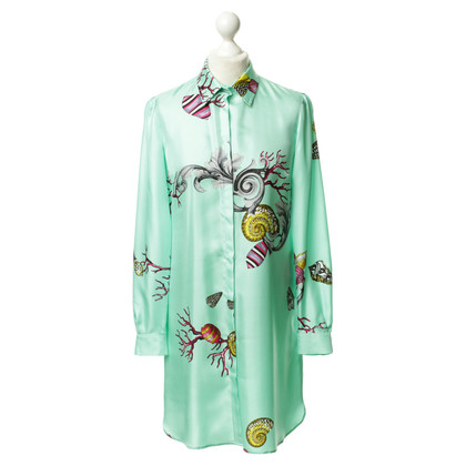 Versace Silk tunic with pattern print