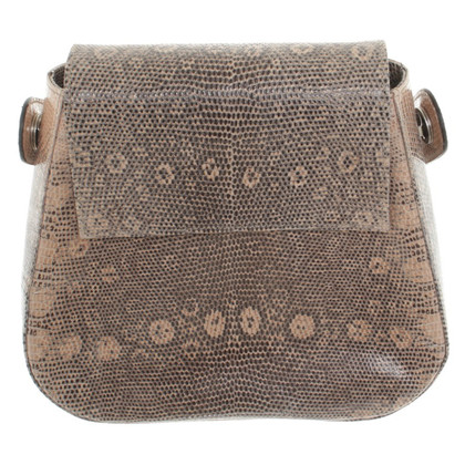 Walter Steiger Handbag with reptile embossing