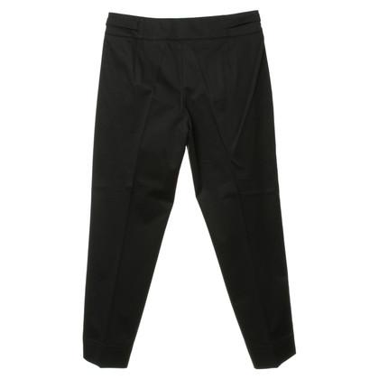 Hugo Boss Zwarte enkels lengte broeken