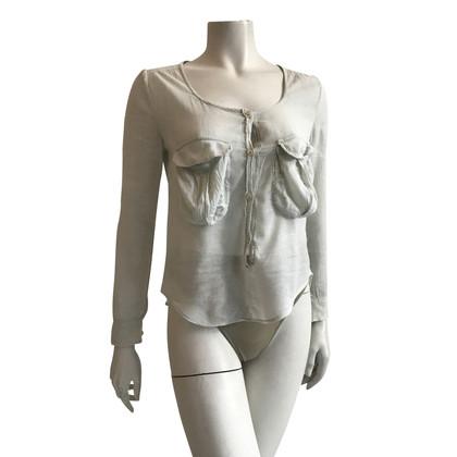 Isabel Marant Etoile off-camicetta bianca