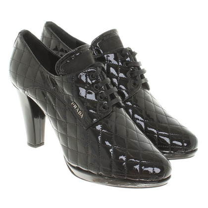 Prada Ankle boots made of patent leather