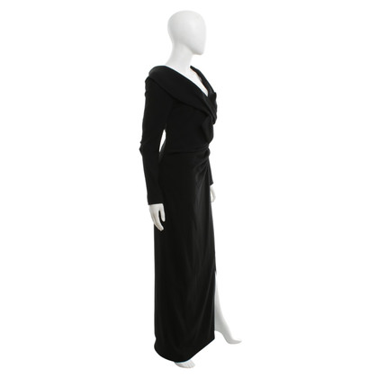 Barbara Schwarzer Black evening dress
