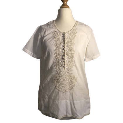 Closed Blouse met borduursel