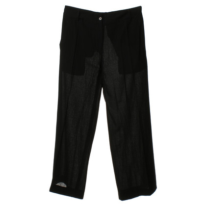 Ann Demeulemeester Trousers in black