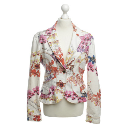 Just Cavalli Blazer with floral print