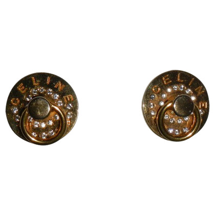 Céline earrings with Rhinestones