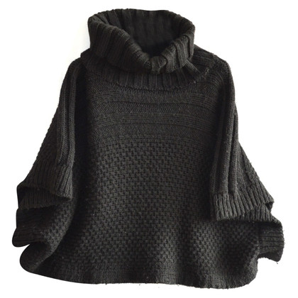 Coccinelle wool Poncho