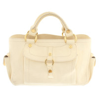 Céline Leather handbag in cream