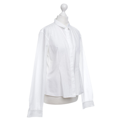 Jil Sander Cotton blouse in white