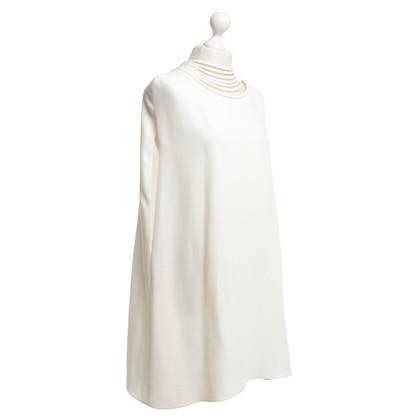 Valentino Exposed dress in cream