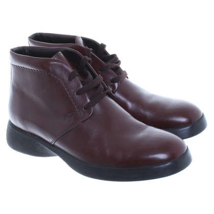Hogan Rugged ankle lace-ups