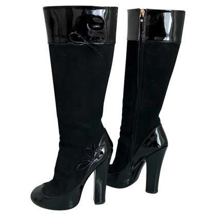 Louis Vuitton High Heel Boots