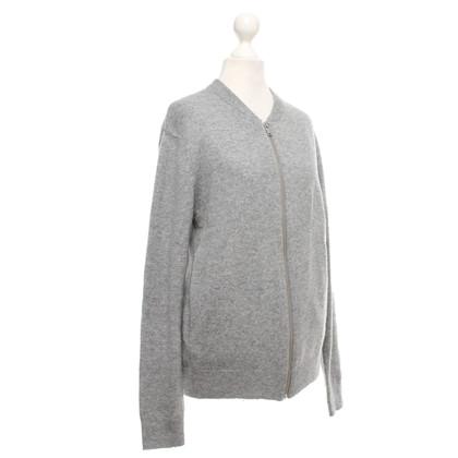 Cos Oversized vest in gemêleerd grijs