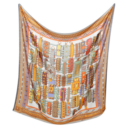 Hermès Cloth with graphic pattern