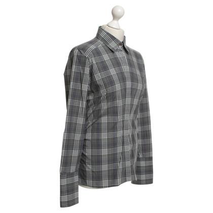 Van Laack Shirt con motivo a quadri