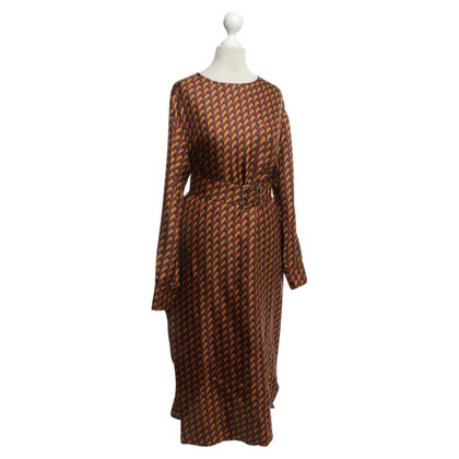 Bally Silk dress with pattern