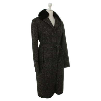 Alessandro Dell'Acqua  Coat with fur collar