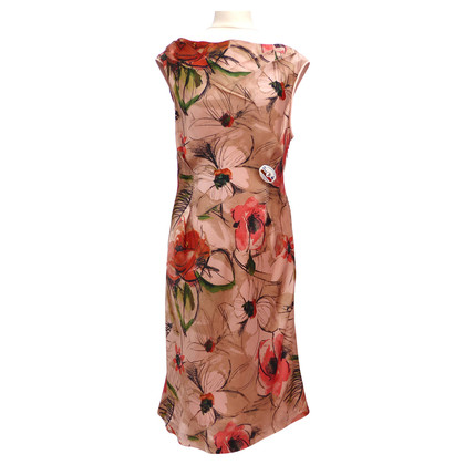 Alberta Ferretti Silk dress with Flowerprint
